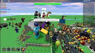 Roblox: TDS huge server of 50(?) people