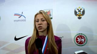 Кристина Сивкова, Чемпионат России 2014