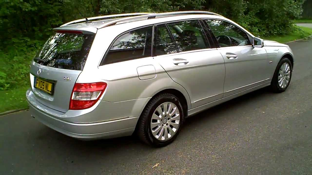 2009 mercedes c220 cdi elegance estate blueefficiency manual youtube. Black Bedroom Furniture Sets. Home Design Ideas