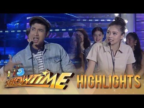 Download It's Showtime PUROKatatawanan: Kim Chiu tries to score against RK