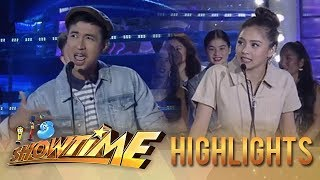 It's Showtime PUROKatatawanan: Kim Chiu tries to score against RK