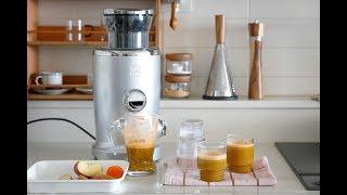 노비스비타주서로 사과당근주스 만들기 / 비타주서 세척법