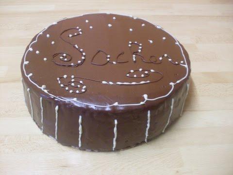 Comment faire un gâteau de SACHER ou SACHERTORTE?