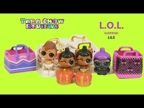 L.O.L. Surprise! LILS : เปิดแอลโอแอล little sister ด้วยกันค่ะ : Tara Chow Reviews