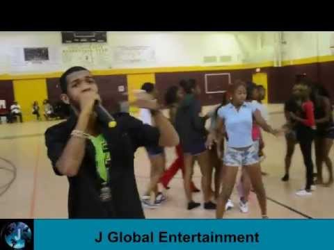 Sage Performs At Lauderdale Lakes Middle School Youtube