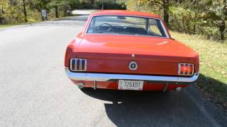 1965 MUSTANG COUPE 289 NUMBERS MATCHING CALIFORNIA CAR ORIGINAL METAL