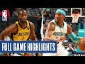 PACERS at HORNETS | FULL GAME HIGHLIGHTS | November 5, 2019
