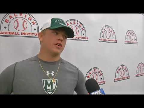 Mason Vaughan Signs With Manhattan College FOX 40 WICZ TV   News, Sports,