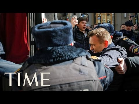 Russian Opposition Leader Arrested Amid Mass Protest in Moscow | TIME