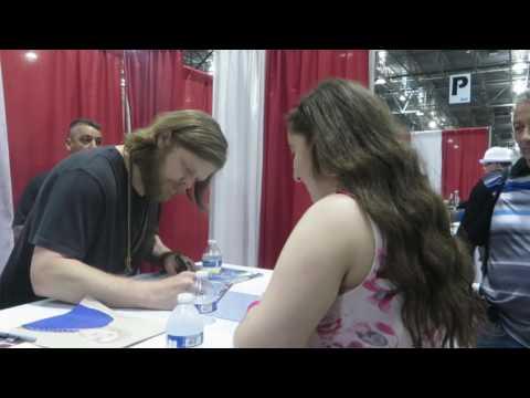 Meeting Elden Henson Motor City Comic Con 2016