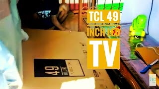 Tcl 49 led unboxing 123 cm L49D2900 model full HD tv