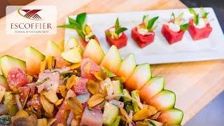 Preparar Ensalada De Sandia & Queso Feta