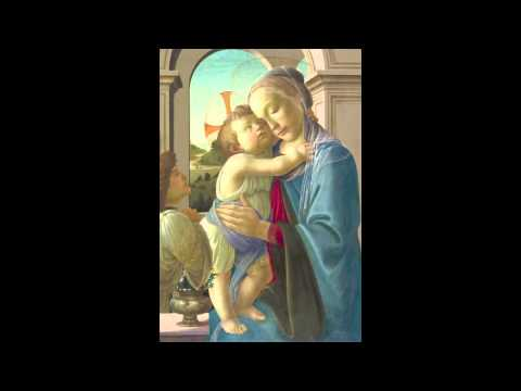 2 Sandro Botticelli Virgin and Child with an Angel 1475-1485 Art Institute of Chicago Part 1