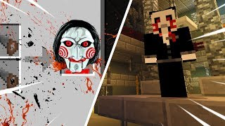Jigsaw wants us to play a game in Minecraft! (Minecraft Saw)