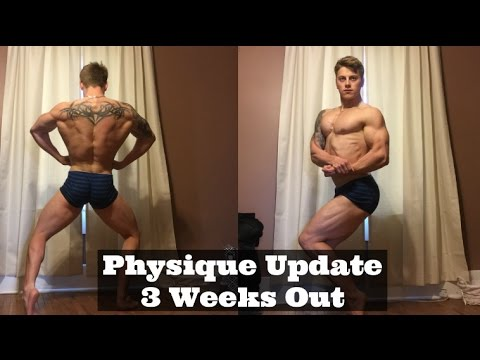 CBBF Nationals Physique Update - 3 Weeks Out