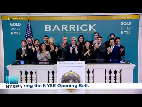 Barrick Gold Corporation Rings the NYSE Opening Bell
