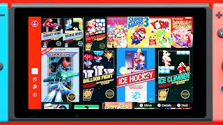 Nintendo Switch Online – NES Library Overview Trailer