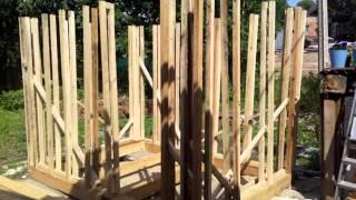 видео Выдержит конструкция бани?