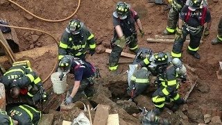 Brooklyn: Worker Trapped Under Collapsed Building