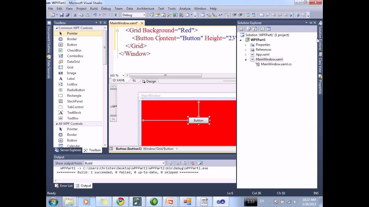 WPF Session1.1 - YouTube