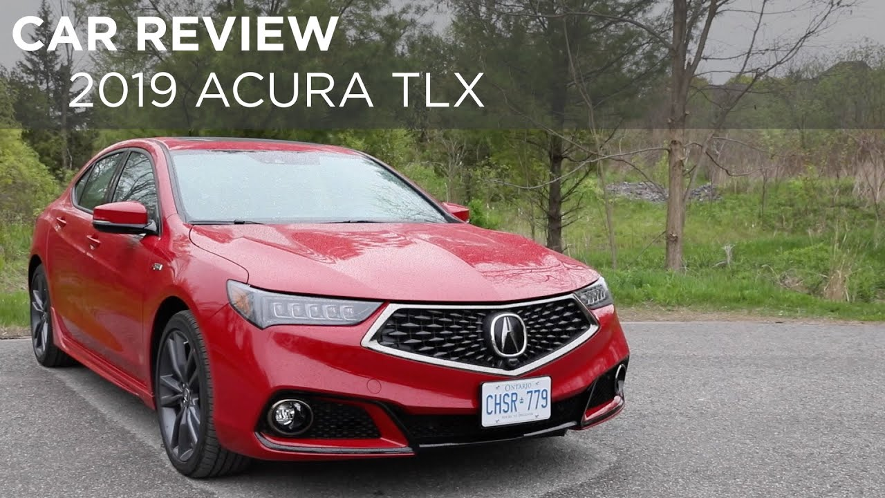 2019 Acura Tlx Car Review Driving Ca Youtube