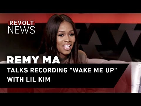"""Remy Ma talks recording """"Wake Me Up"""" with Lil Kim"""