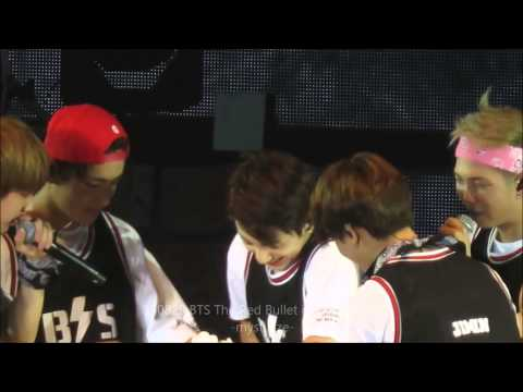 150829 BTS in HK - Happy Birthday Jungkook & Rap Mon!