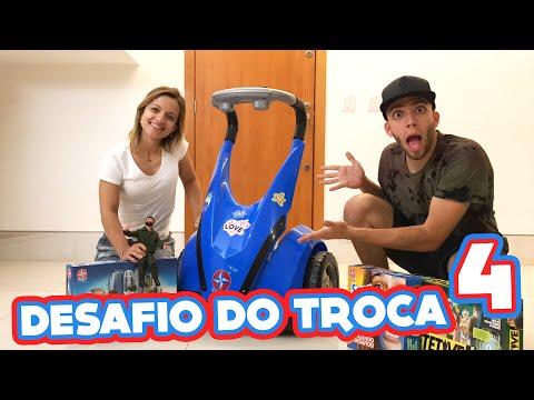 DESAFIO DO TROCA 4 (VALENDO BRINQUEDOS!!!)