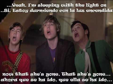 Busted -Sleeping With The Light On Lyrics. - YouTube