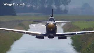 Breitling Fighters Spitfire MH434 LOW pass