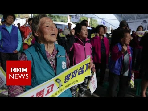 The S Korean village furious with Trump – BBC News