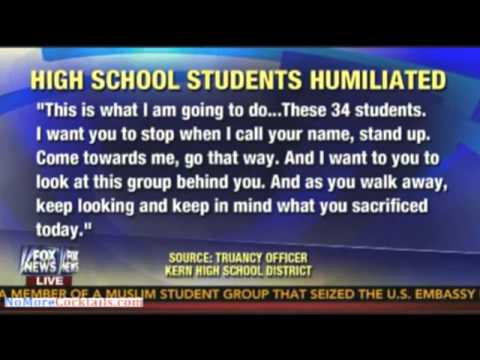 Students Humiliated After School Announces Who's Not Graduating During Assembly