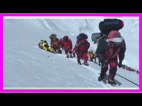 Breaking News | Everest is becoming a conveyor belt of hikers who pay $25,000 to do the climb — the