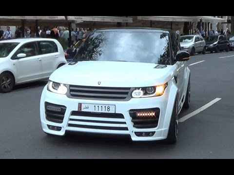 land rover mansory range rover sport in d sseldorf youtube. Black Bedroom Furniture Sets. Home Design Ideas