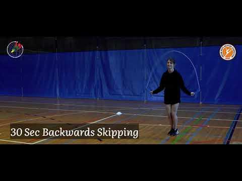 30 SEC. BACKWARDS SKIPPING   India Inter-school Rope Skipping Championship 2021.