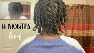 11 Month Loc Update | Rice Water For Hair Growth? | Naomi Onlae
