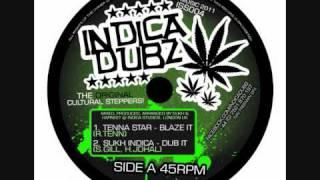 "Indica Dubs - Tenna Star - Blaze It / Clouds of Dub 12"" [ISS004]"