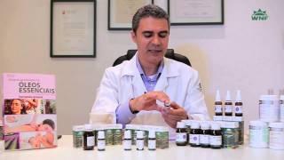 De óleo essencial de para receita contusões mistura