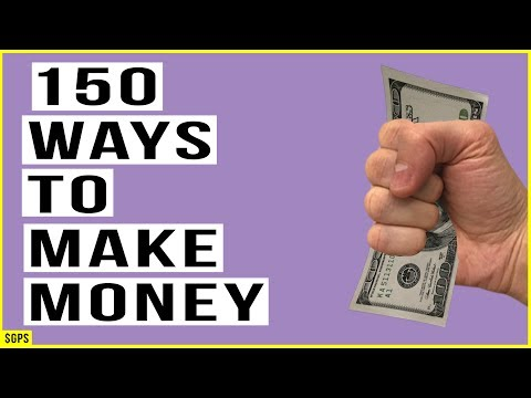 150 Ways To Make Money Right Now (With No Money)