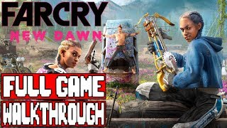 FAR CRY NEW DAWN Gameplay Walkthrough Part 1 Full Game - No Commentary (Far Cry New Dawn Full Game)