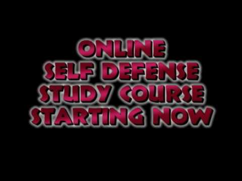 Online Self Defense Study Course intro