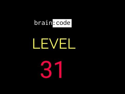 Brain code level 31 solution or walkthrough