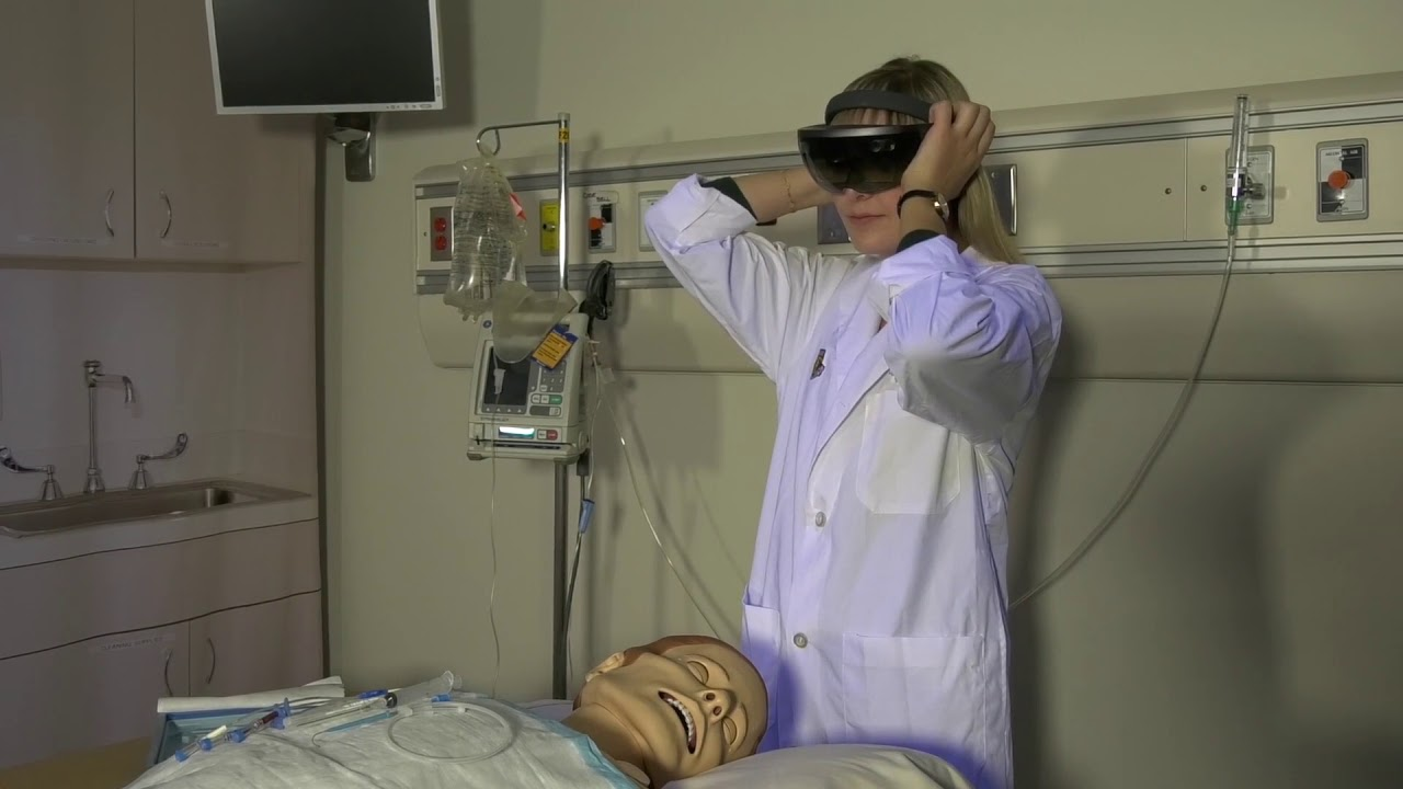 Leveraging Augmented Reality Training Tool for Medical Education