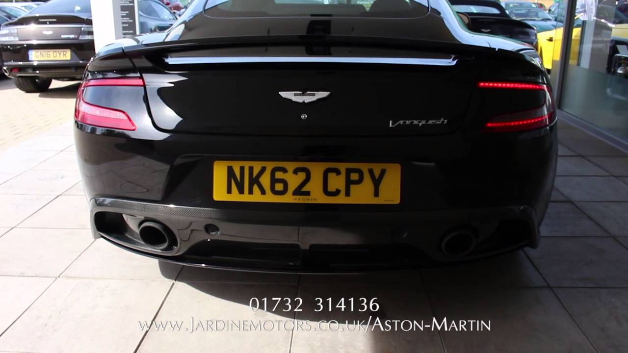 Jardine Motors Group | Aston Martin Onyx Black Vanquish Coupe ...