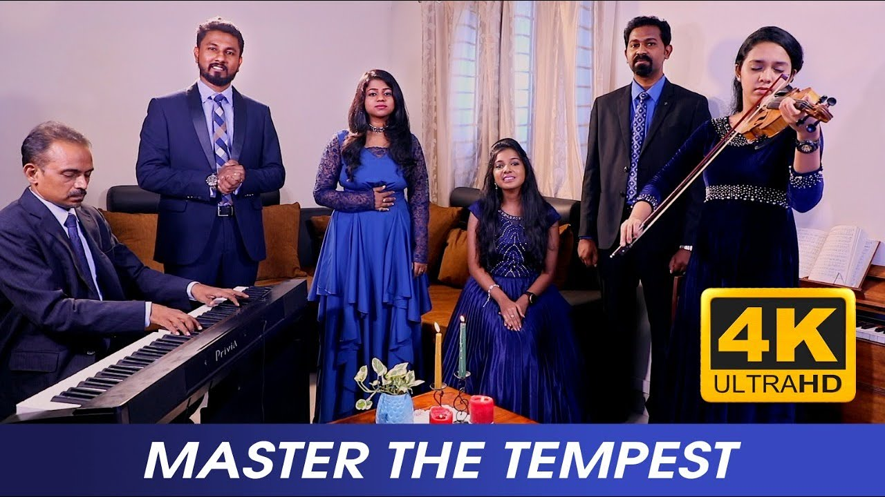 Master The Tempest | Hymn | 4K | Voice of Eden | INDIA