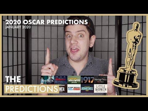 2020 OSCAR PREDICTIONS - JANUARY 2020