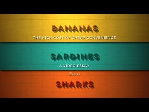 Bananas, Sardines and Sharks