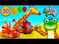 Truck Animal Car Wash Party at Gecko's Garage | Educational Videos For Kids