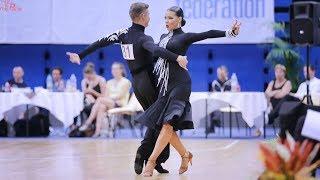 Yaroslav Brovarskyi - Vanesa Maneva, BUL   2018 Paris Dance Open - WDSF WO LAT - QF C