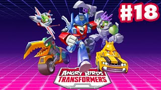 Angry Birds Transformers - Gameplay Walkthrough Part 18 - Grey Slam Grimlock Rescued! (iOS)